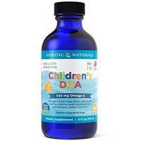 Childrens DHA - DHA i EPA dla dzieci o smaku truskawkowym (119 ml) Nordic Naturals