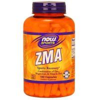 ZMA - Cynk, Magnez i Witamina B6 (180 kaps.) NOW Foods
