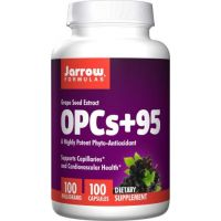 OPC 95 % - Ekstrakt z Pestek Winogron 100 mg (100 kaps.) Jarrow Formulas