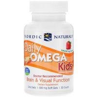 Daily Omega Kids - Omega 3 dla Dzieci (30 kaps.) Nordic Naturals