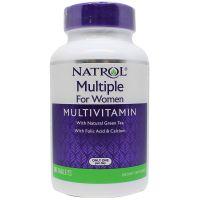 Multiple For Woman - Multiwitamina i Składniki Mineralne dla Kobiet (90 tabl.) Natrol