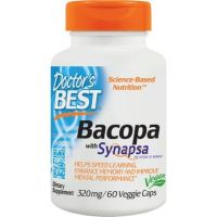 Bakopa (Brahmi) - Bacopa Monniera z Synapsa 320 mg (60 kaps.) Doctor's Best