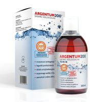 Tonik Argentum200 Srebro Koloidalne 100 ppm (500 ml) Aura Herbals