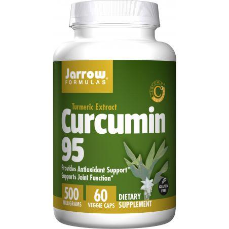 Curcumin 95 Complex - Kurkuma 500 mg (60 kaps.) Jarrow Formulas