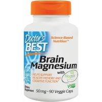 Brain Magnesium i Magtein - L-Treonian Magnezu 50 mg (90 kaps.) Doctor's Best