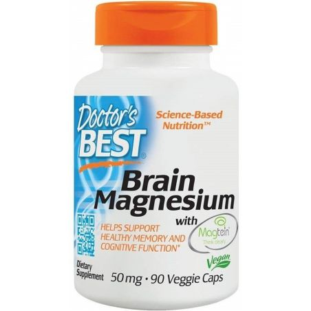 Brain Magnesium i Magtein - L-Treonian Magnezu 50 mg (90 kaps.) Doctor's Best