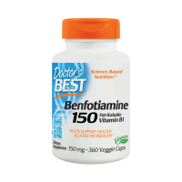 Benfotiamina (Witamina B1) BenfoPure 150 mg i L-Leucyna (360 kaps.) Doctor's Best