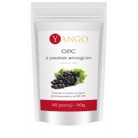 OPC 95% - Ekstrakt z Pestek Winogron (40 g) Yango