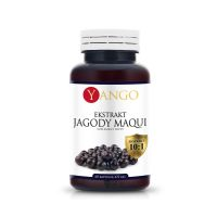 Ekstrakt Jagody Maqui (60 kaps.) Yango
