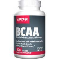 BCAA - Aminokwasy rozgałęzione + Glutamina + B6 (120 kaps.) Jarrow Formulas