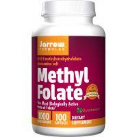Methyl Folate Quatrefolic - Kwas foliowy 1000 mcg (100 kaps.) Jarrow Formulas