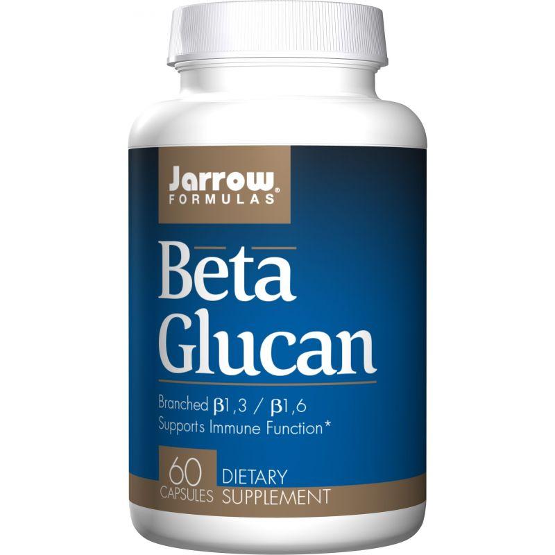 Beta Glucan 250 mg - Beta Glukan (60 kaps.) Jarrow Formulas