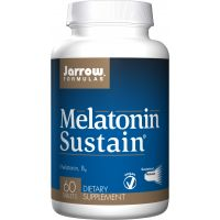 Melatonin Sustain - Melatonina 1 mg + Witamina B6 2 mg (60 tabl.) Jarrow Formulas