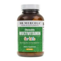 Multiwitamina do żucia dla dzieci - Chewable Multiwitamin for kids (60 tabl.) Dr Mercola