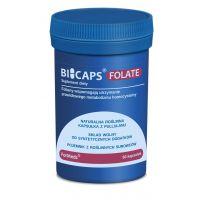 Bicaps Folate - Folian 500 mcg + Inulina (60 kaps.) ForMeds