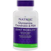 Glukozamina, Chondroityna i MSM (90 tabl.) Natrol