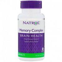 Memory Complex Brain Health - Wparcie dla Mózgu i Pamięci  (60 tabl.) Natrol