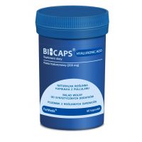 Bicaps Hyaluronic Acid - Kwas Hialuronowy 200 mg (60 kaps.) ForMeds