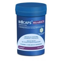 Bicaps MicroBACTI - Mieszanka 4 szczepów bakterii 8mld CFU (60 kaps.) ForMeds