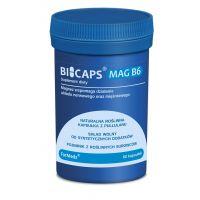 Bicaps Mag B6 - Magnez (Cytrynian Magnezu) + Witamina B6 (60 kaps.) ForMeds