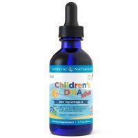 Childrens DHA Xtra - DHA i EPA dla dzieci o smaku jagodowym (60 ml) Nordic Naturals