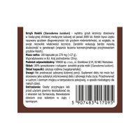 Grzyb Reishi - 100% rozłupane i sproszkowane zarodniki (100 kaps.) Yango