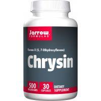 Chrysin (5,7-dihydroksyflawon) - bioflawonoid Chryzyna 500 mg (30 kaps.) Jarrow Formulas