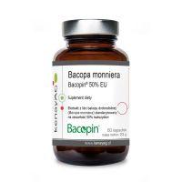 Bakopa (Brahmi) - Bacopa Monniera Bacopin 50% bakozydów (60 kaps.) KenayAG