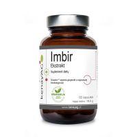 Imbir 310 mg - standaryzowany wyciąg z Kłącza Imbiru (60 kaps.) KenayAG