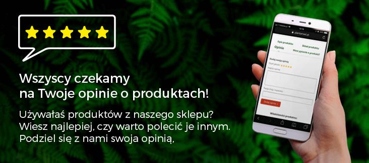 Dziel się z nami swoją opinią o produktach!