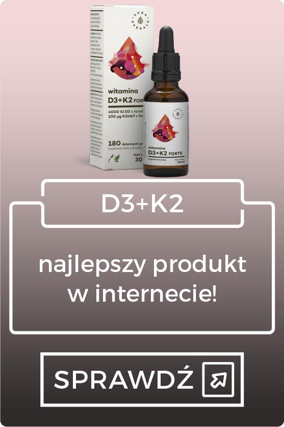 Najlepszy zestaw K2+D3 na rynku!
